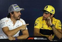 Sainz, entre Renault, Red Bull... y McLaren