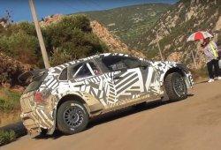 Sesión de test del Volkswagen Polo GTI R5 en Grecia