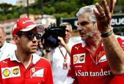 """Vettel y Arrivabene responden a Mercedes: """"Es absurdo pensar que ha sido deliberado"""""""