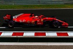 Vettel saca la cabeza en los segundos libres