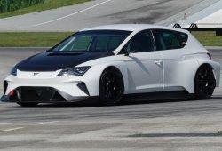 El Cupra e-Racer se enfrenta por primera vez a un circuito