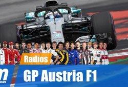 [Vídeo] La radio de los pilotos en el GP de Austria de F1 2018