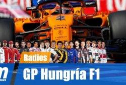 [Vídeo] La radio de los pilotos en el GP de Hungría de F1 2018