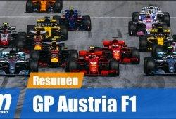 [Vídeo] Resumen del GP de Austria de F1 2018