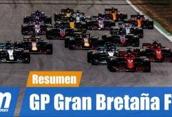 [Vídeo] Resumen del GP de Gran Bretaña de F1 2018