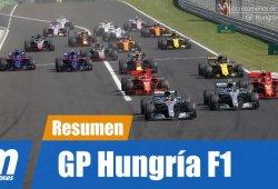 [Vídeo] Resumen del GP de Hungría de F1 2018