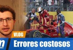 [Vídeo] Vettel en Alemania: errores que pueden costar títulos