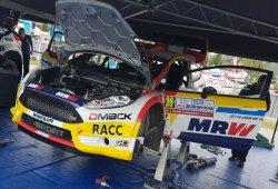 Nil Solans cambia de gomas y varía su programa en WRC2
