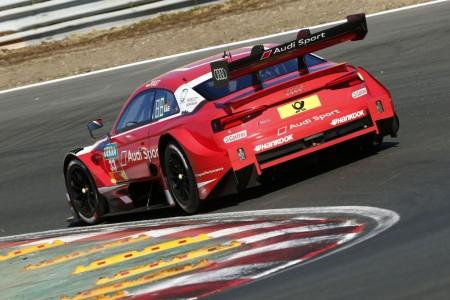 Rene Rást concede a Audi su primer triunfo en el DTM 2018