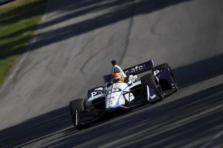 Pietro Fittipaldi vuelve a la acción en un test liderado por Wickens