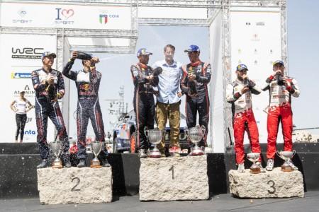 Neuville, Ogier y Tänak, un WRC con tres líderes
