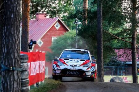 Tänak manda en 'Harju' para liderar el Rally de Finlandia