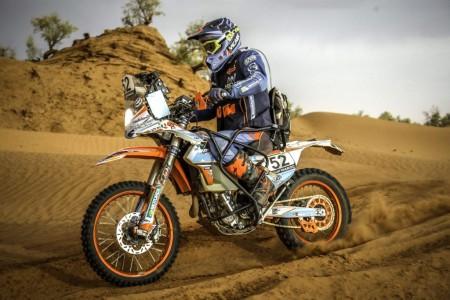 El piloto parapléjico Nicola Dutto hará el Dakar en moto