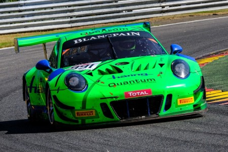 El Porsche de Herbert lidera el test de las 24 Horas de Spa