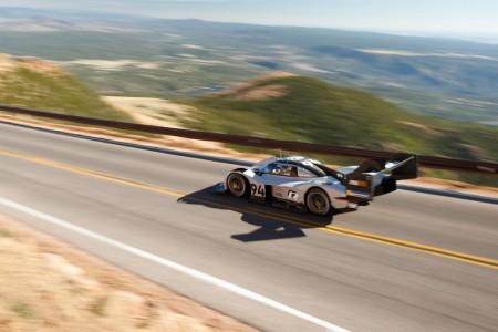 El récord de Romain Dumas en Pikes Peak desde el aire