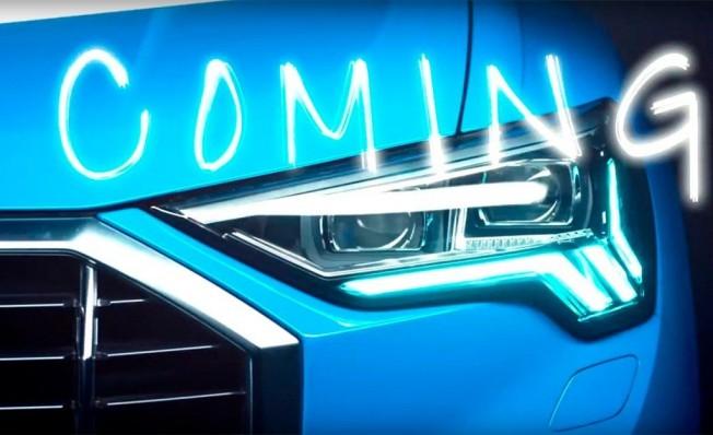 Audi Q3 2019 - teaser
