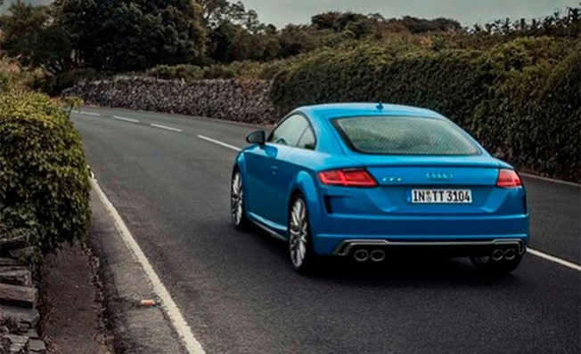 Audi TTS 2019 - foto filtrada