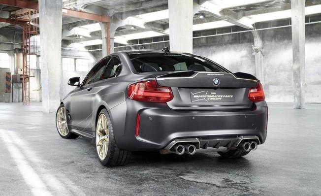 BMW M Performance Parts Concept - posterior