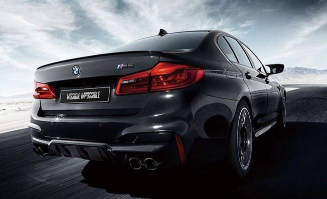 BMW M5 Mission Impossible Edition - posterior