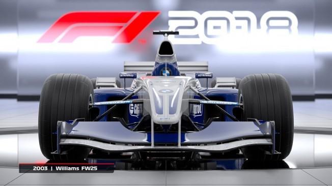 F1 2018 - lista de coches clásicos