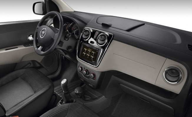 Dacia Lodgy - interior