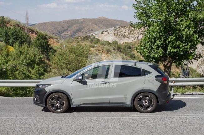 Honda HR-V 2019 - foto espía lateral