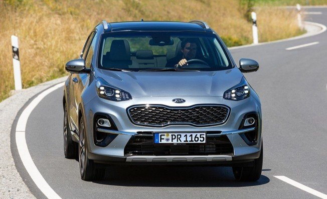 Kia Sportage 2019 - frontal