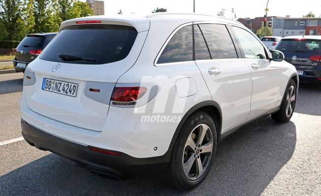 Mercedes Clase GLC 2019 - foto espía posterior