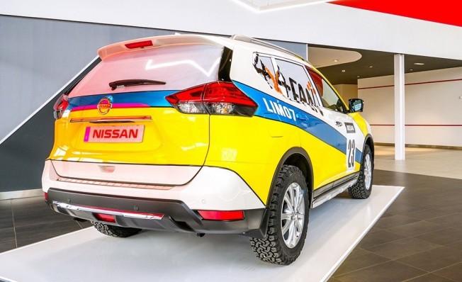 Nissan X-Trail 4x4 FAN - posterior