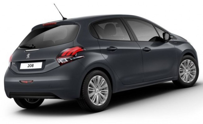 Peugeot 208 Signature Edition - posterior