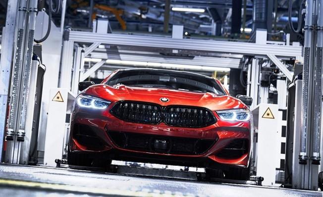 BMW Serie 8 - producción