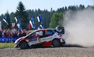 Tänak y Toyota no dan tregua en el Rally de Finlandia
