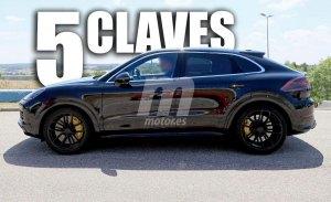 Porsche Cayenne Coupé: la nueva variante SUV coupé en 5 claves