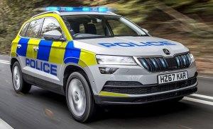 El nuevo Skoda Karoq se viste de policía en el Reino Unido