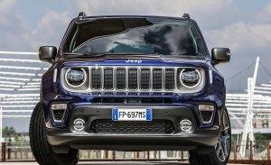 Italia - Junio 2018: Cara para Jeep, cruz para Fiat