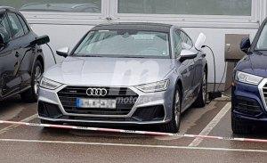 El nuevo Audi A7 e-tron híbrido cazado con nuevo diseño