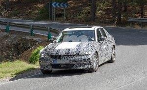 BMW i3 2021: las primeras fotos del futuro Serie 3 eléctrico