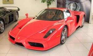 El Ferrari Enzo de Michael Schumacher esta a la venta... o eso parece