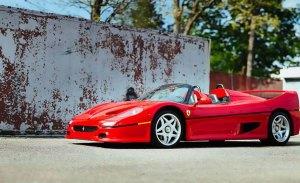El primer Ferrari F50 fabricado de la historia aparece a la venta