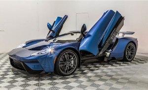 El Ford GT de John Cena a subasta en Monterey, ¡continúa la polémica!