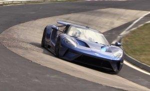 El Ford GT 2017 cazado a fondo en Nürburgring ¿intento de récord?