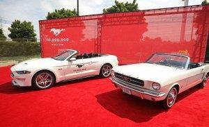 Ford Mustang 10 millones: un homenaje al primer Mustang fabricado