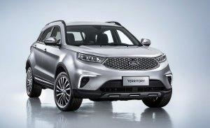 El nuevo SUV de Ford para China se llama Territory y tendrá versión híbrida