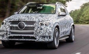 La nueva generación del Mercedes GLE debutará en el Salón de París