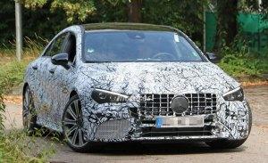 Mercedes-AMG CLA45: primeras imágenes de la nueva generación