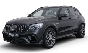 El Mercedes-AMG GLC 63 S se pasa al lado oscuro gracias a Brabus