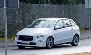 El Mercedes Clase B ya muestra los primeros rasgos de su carrocería