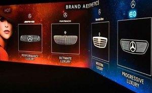 Mercedes desarrolla cuatro diseños de parrillas para diferenciar sus modelos