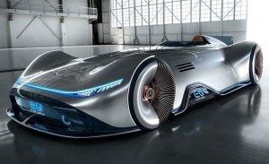 Mercedes Vision EQ Silver Arrow Concept, tecnología del futuro sin olvidar el pasado