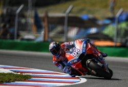 Andrea Dovizioso se lleva una ajustada pole de MotoGP en Brno